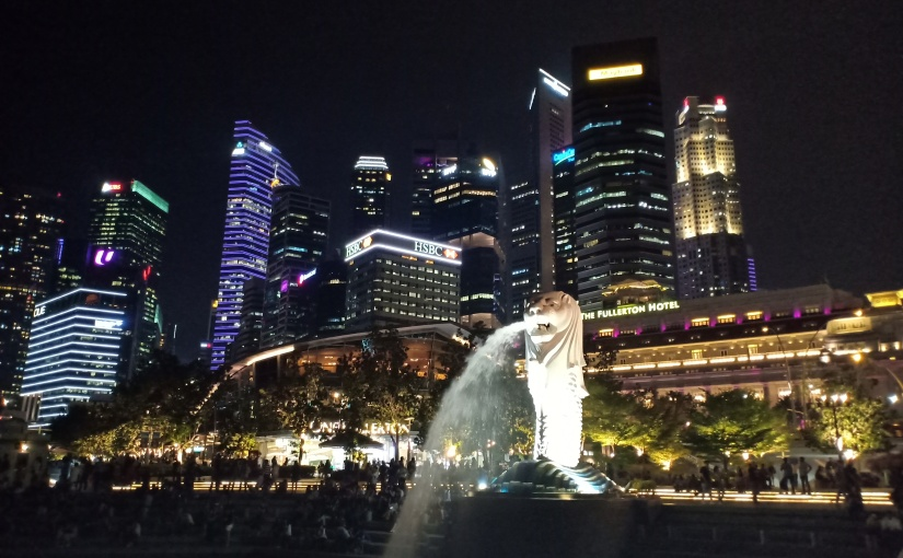 Hello Singapore!!! (Day1)